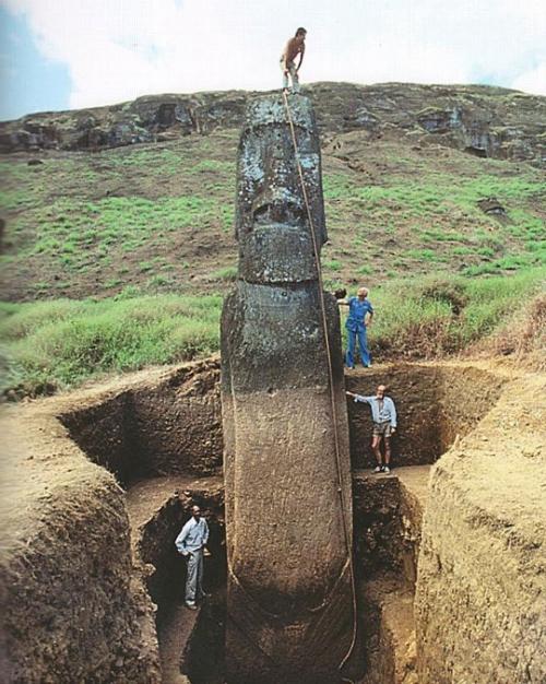 Экспедиция Тура Хейердала на остров Пасхи