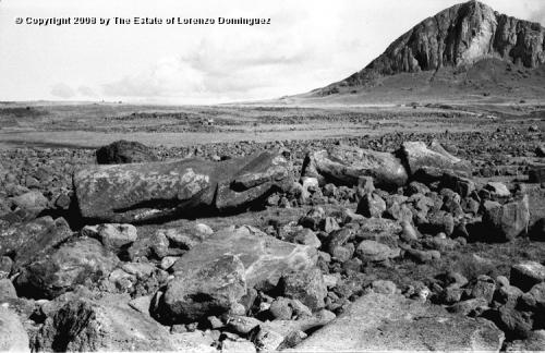 Easter Island. Tsunami 1960
