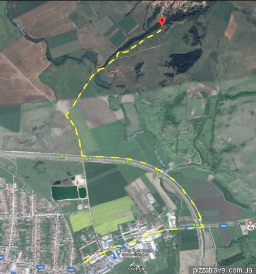 Карта проезда к Rapa Rosie