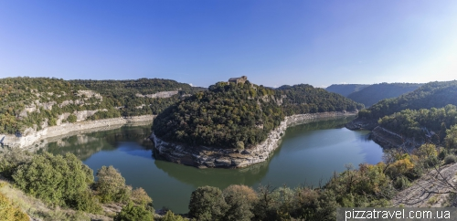 Sant Pere de Casserres monastery viewpoint