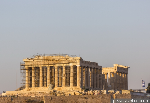 Parthenon - the main temple in ancient Athens