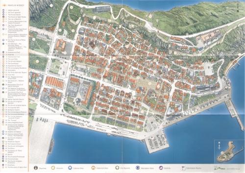 Карта Нафплиона