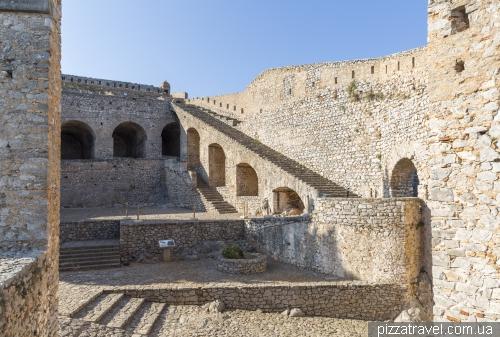 Крепость Паламиди в Нафплионе
