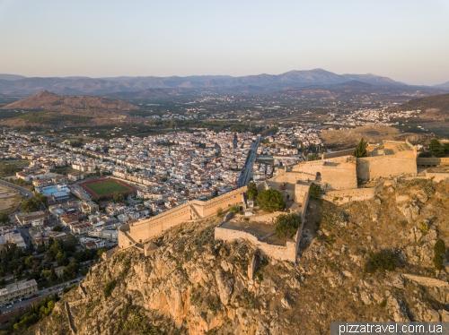 Фортеця Паламіді в Нафпліоні