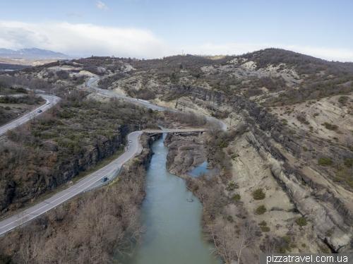 Каньйон річки Венетікос
