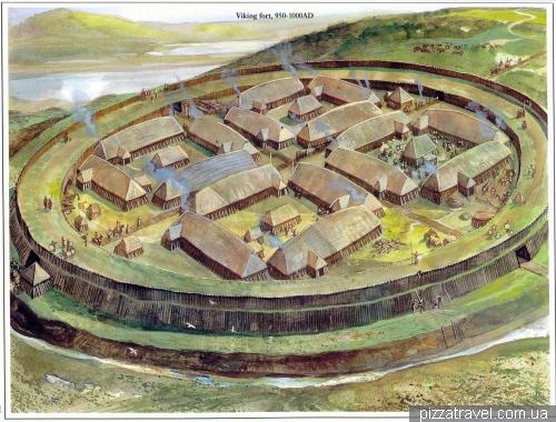 Круговий форт вікінгів