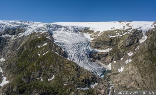 Льодовик Буер (Buerbreen)