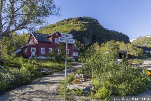 Станция Vatnahalsen