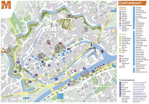 Карта Мидделбурга