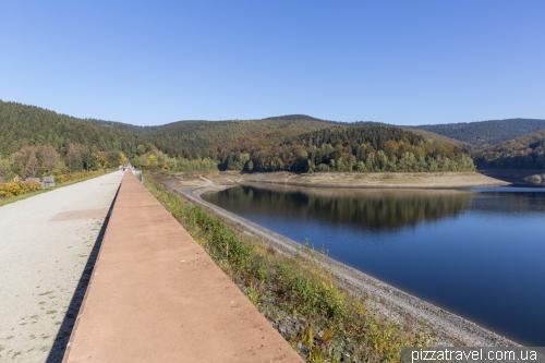 Водохранилище Одерштау (Oderstausee)