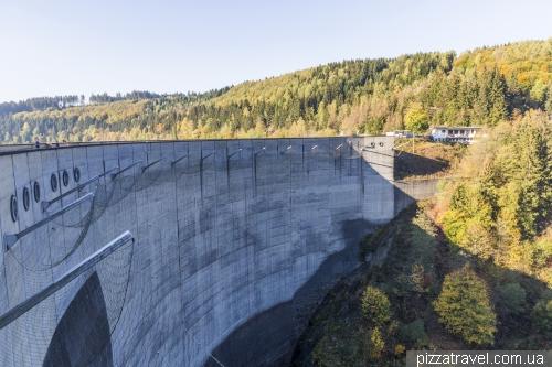 Водохранилище Окер (Okertalsperre)