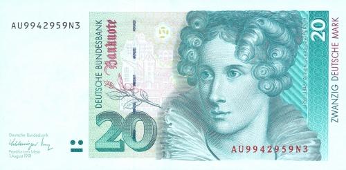 20 німецьких марок