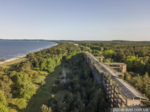 Гігантський будинок відпочинку Прора на острові Рюген