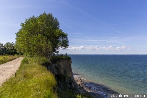 Высокие берега между Травемюнде и Ниндорфом
