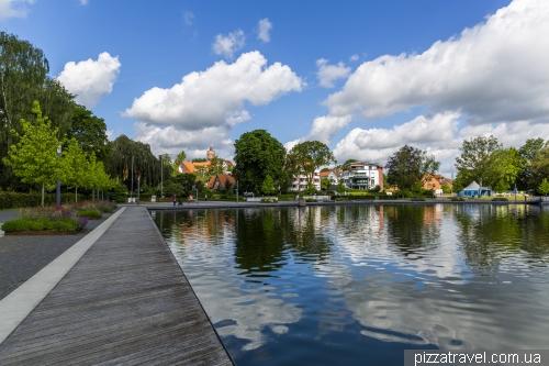Embankment in Eutin