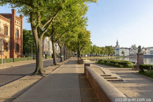 Embankment in Schwerin