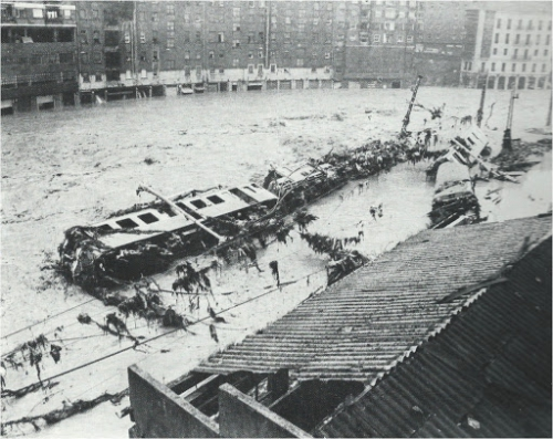 Flood in Bilbao (1983)