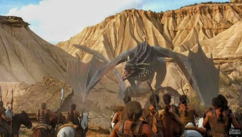 Game of Thrones in Bardenas Reales Park