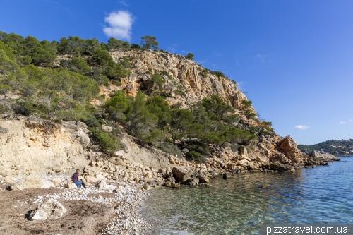 Пляж Бланка (Cala Blanca)