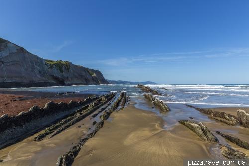 Пляж Зумайя (Playa de Zumaia)