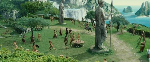 Wonder Woman (2017) at Villa Cimbrone