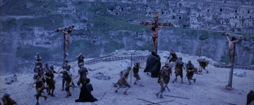 The Passion of Christ (2004) in Matera