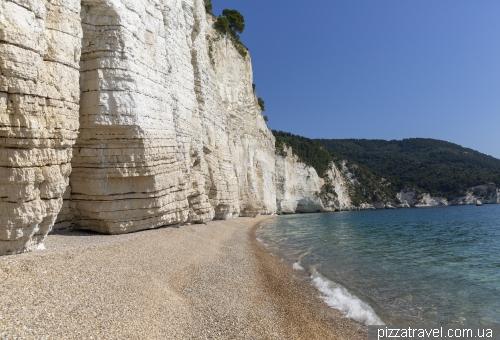 Пляж Віньянотіка (Vignanotica)