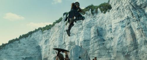 Скелі пляжу Віньянотіка у фільмі Диво-жінка (2017)
