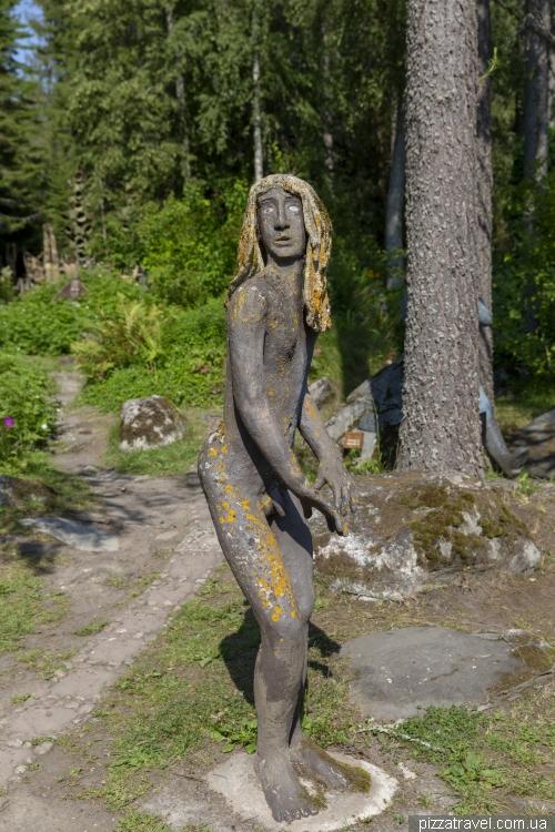 Сад скульптур Вейо Рьонконена (Veijo Ronkkonen)