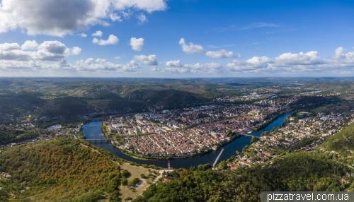 Cahors lookout (Le Mont Saint Cyr)