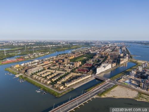 Новые районы Амстердама