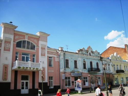 Soborna (Cathedral) Street, the most beautiful one