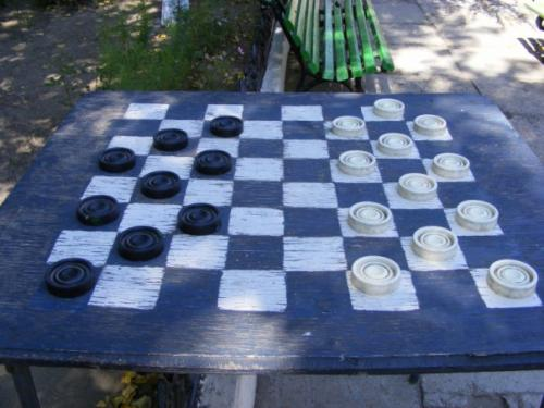 Soviet-style checkers :)
