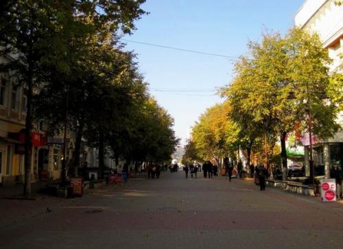 Пешеходная улица Проскуровская