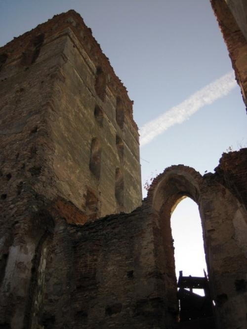 Руины оборонной башни
