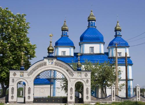 Дерев'яна церква Різдва Богородиці (1764)