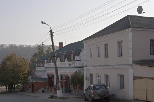 Several buildings of the old town