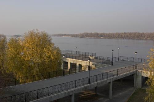 River port near the Tarasova Hill