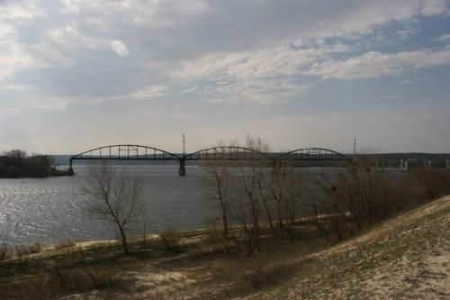 The bridge was destroyed during the World War II