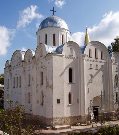 St. Borys and Gleb Cathedral (1120-1123)