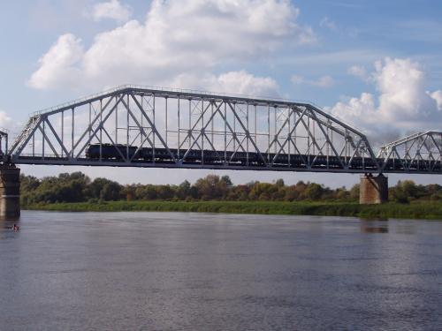 Bridge over the Desna river