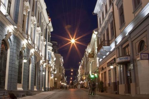 Pedestrian street of Olga Kobylyanska
