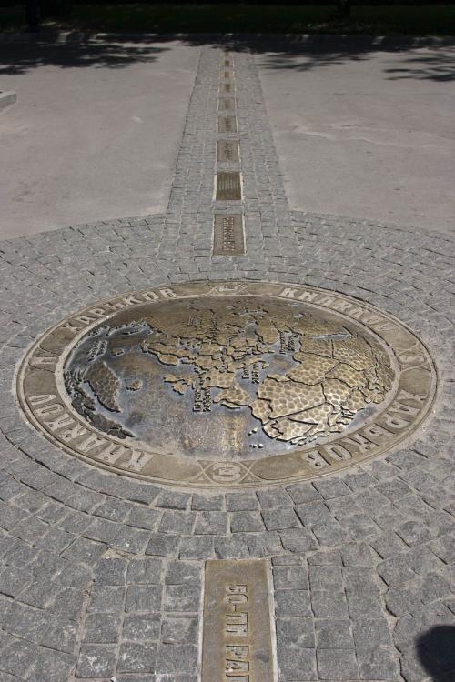 Памятник 50-й параллели