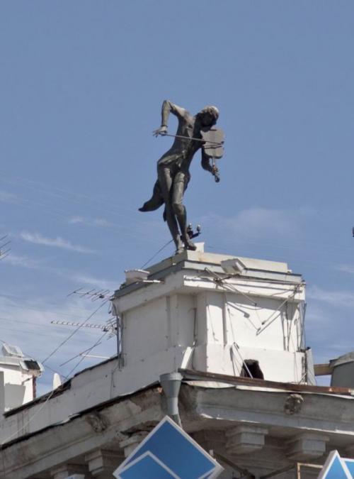 Скрипач на крыше (прототип - Юрий Башмет)
