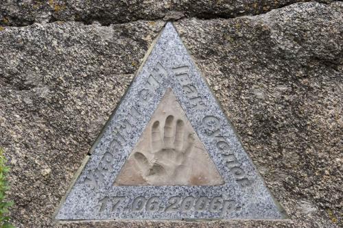 Suslov's handprint