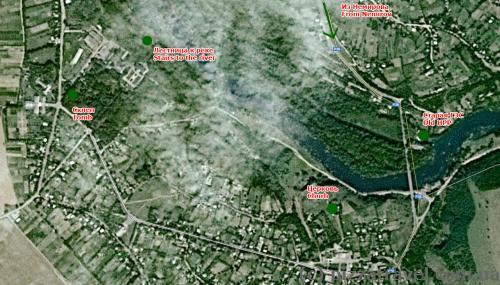 Печера, Вінницька область, карта