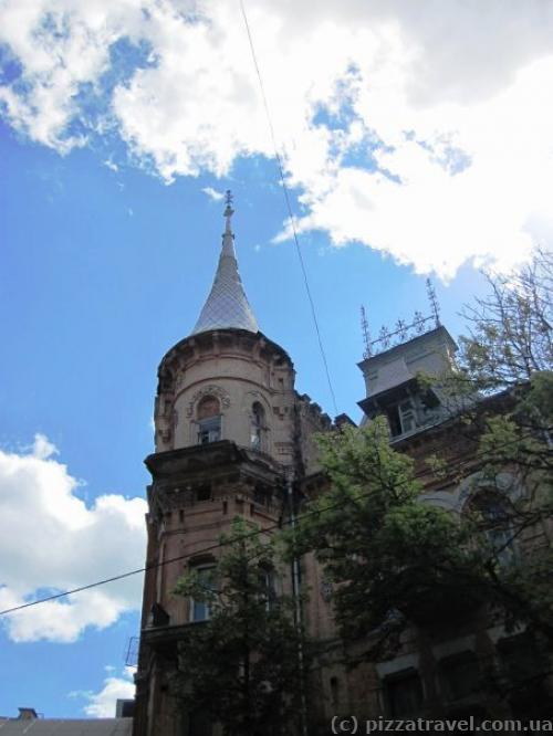 Дом барона Штейнгеля