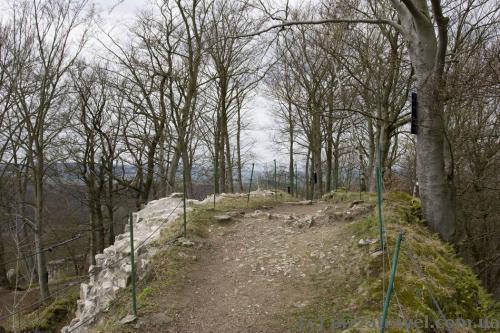 Руины крепости Шарцфельд