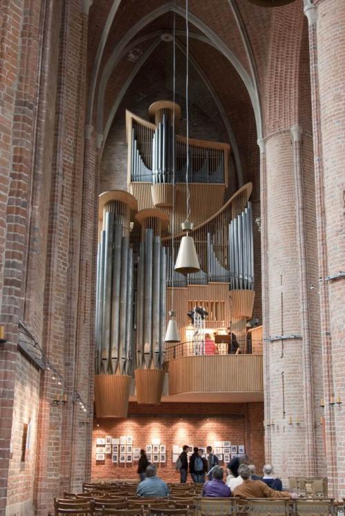Внутреннее помещение рыночной церкви Маркткирхе