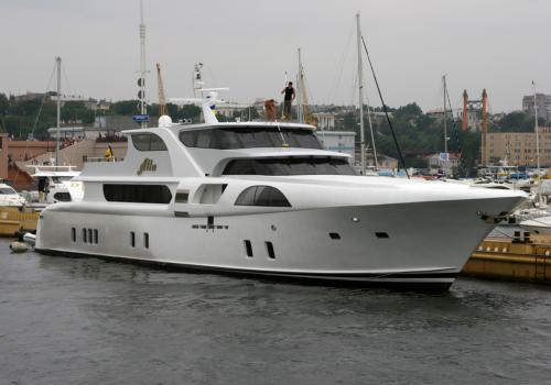 Yacht of the famous singer Alla Pugachova